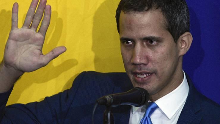 Juan Guaidó, Parlamentspräsident und Oppositionsführer, hat genug von leeren Worten.
