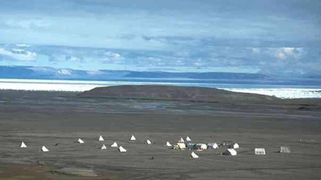 Geologen-Camp auf der Ellesmere-Insel
