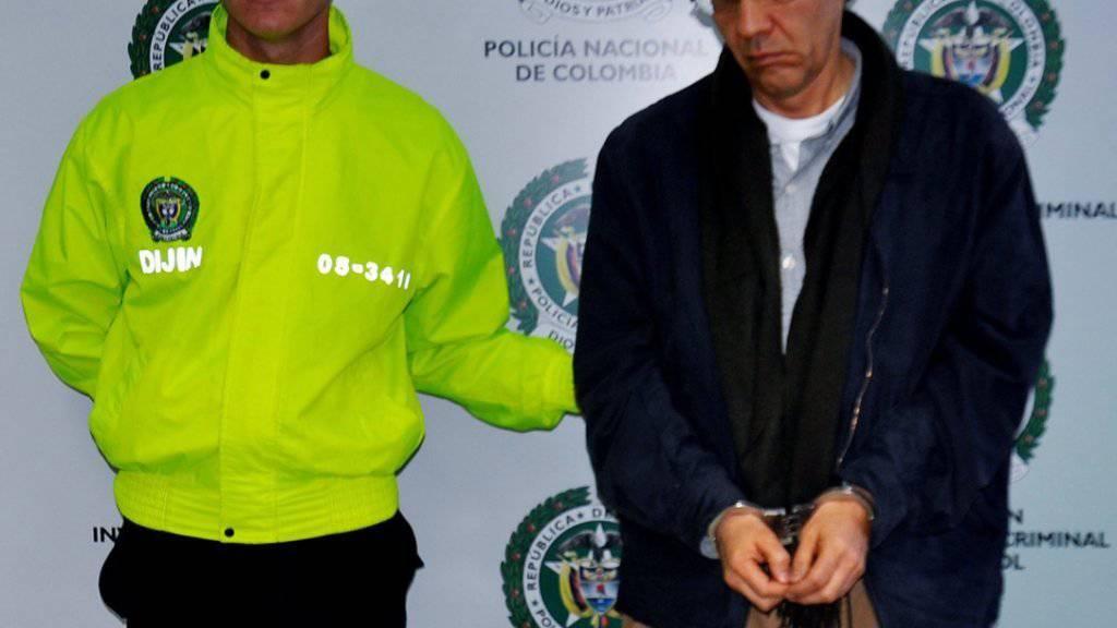 In einem Luxus-Fitnesscenter verhaftet: «König des Dopings» Alberto Beltran.