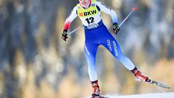 Nadine Faehndrich überzeugt bereits in der Qualifikation.