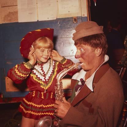 Clown Pio (Pius) Nock ist eines der berühmtesten Mitglieder der Nock-Familie.