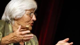 Rosmarie Zapfl, Präsidentin Frauendachverband Alliance F (Archiv)