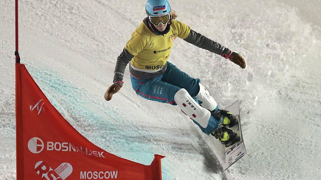 Patrizia Kummer holt in Winterberg die Weltcup-Kugel im Parallelslalom (Archivbild)
