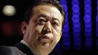 Ist möglicherweise innerchinesischen Machtkämpfen hinter den Kulissen zum Opfer gefallen: der von Peking entführte und zum Rücktritt gezwungene Interpol-Chef Meng Hongwei.