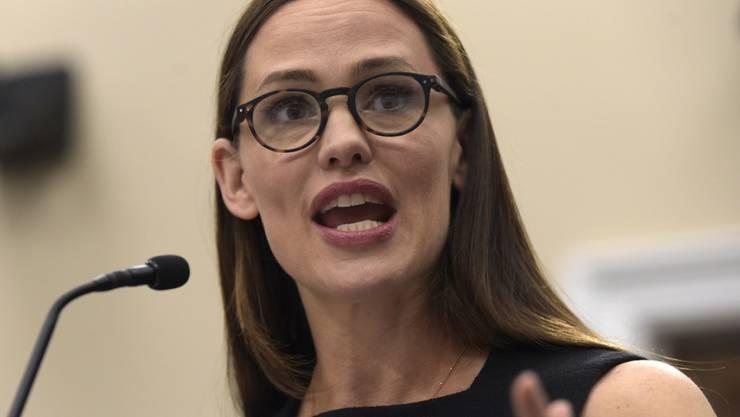 """Hollywood-Schauspielerin und Botschafterin der Hilfsorganisation """"Save the Children"""" Jennifer Garner ruft die US-Regierung dazu auf, mehr für vernachlässigte Kinder zu tun."""