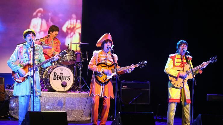 Die vier Musiker der Cover-Band «Twist&Shout»