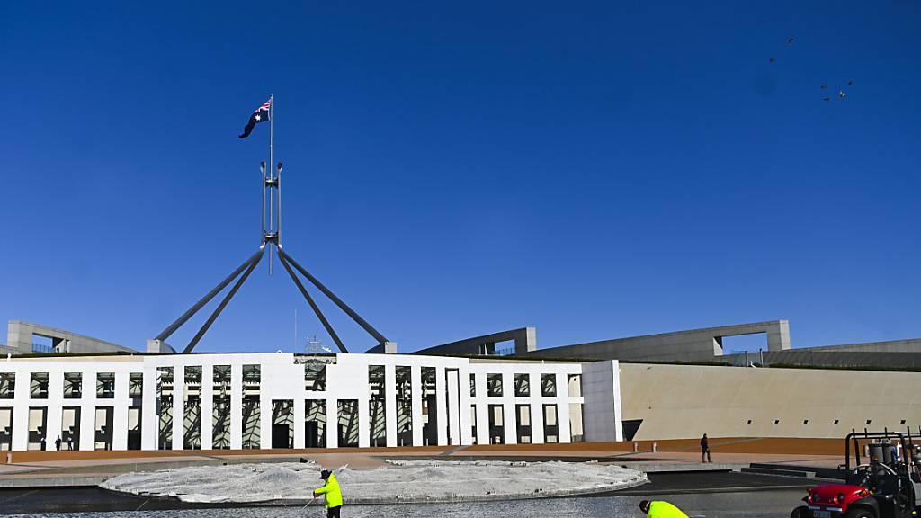 Erster Corona-Fall seit einem Jahr in Canberra: Die australische Stadt verordnet deshalb einen siebentägigen Lockdown.