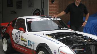 Der ehemalige Profirennfahrer Claude Petitjean verliebte sich auf Anhieb in den Datsun 280 Z Coupé.