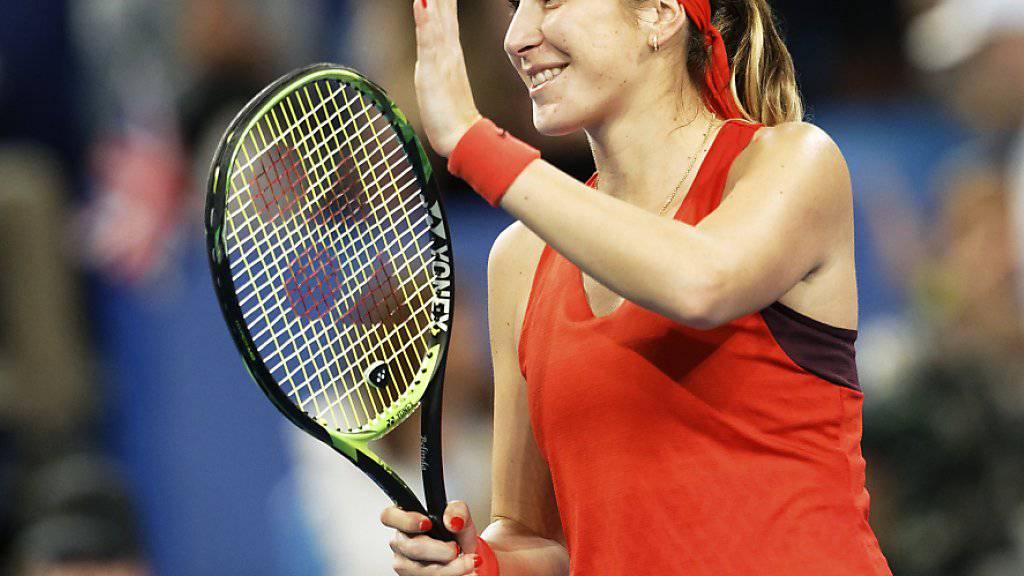 Starker Einstieg in die Saison: Belinda Bencic