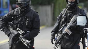 Spezialeinheiten unterstützen den Einsatz
