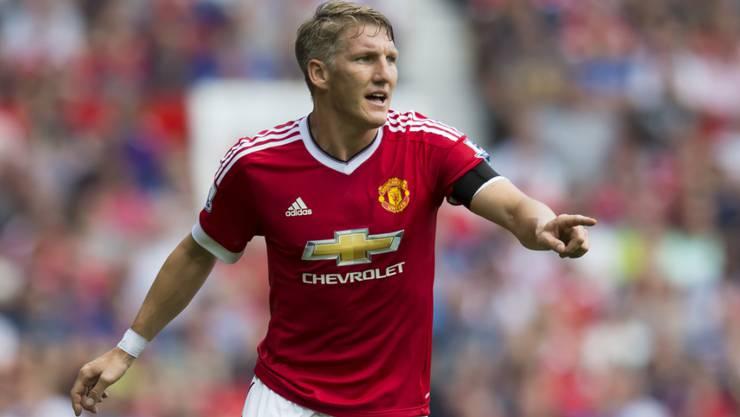 Bastian Schweinsteiger (31) kam aufgrund einer Knieverletzung in diesem Jahr mit Manchester United lediglich zu zwei Einsätzen in der Premier League