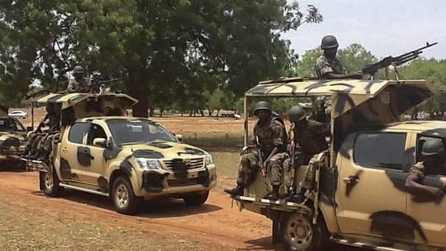 Nigerianische Soldaten in Yola (Archivbild)