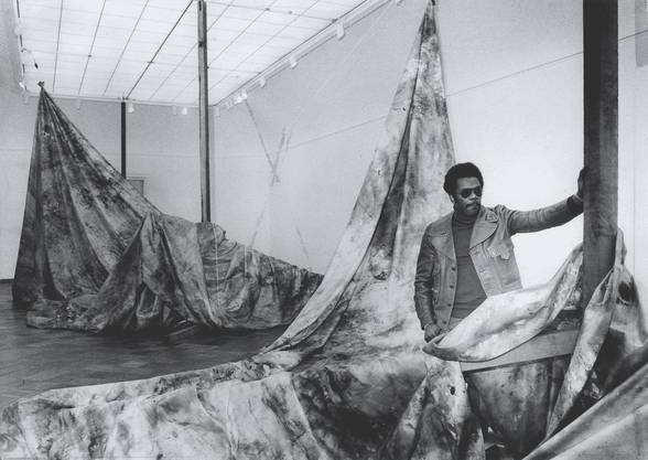 Das Kunstmuseum Basel zeigt «The Music Of Color» des US-amerikanischen Künstlers Sam Gilliam