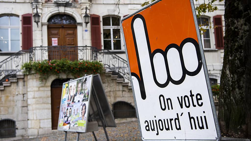 Im Kanton Jura haben alle bisherigen Regierungsmitglieder die Wiederwahl geschafft.