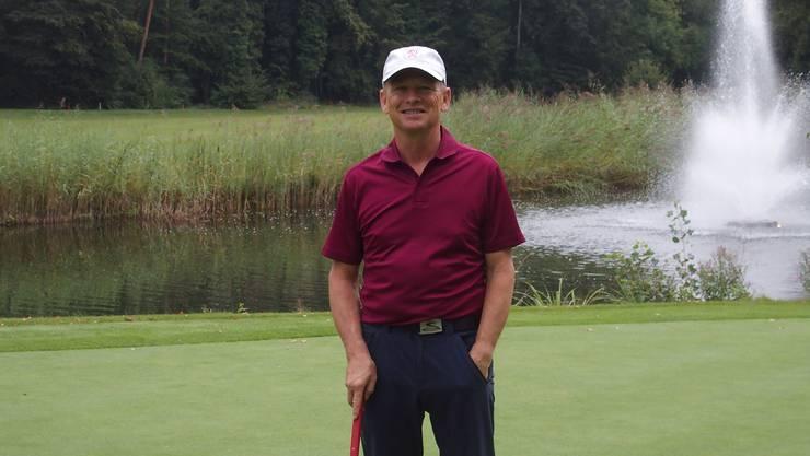 Kurt Zumsteg ist der 12. Präsident in der Geschichte des 90-jährigen Golfclubs Schinznach Bad.