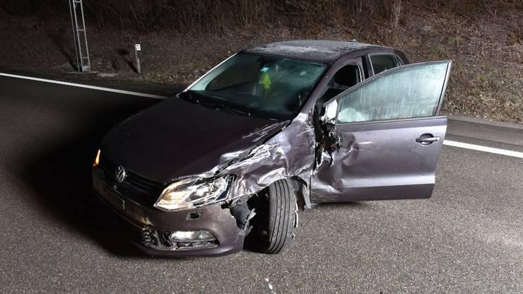 An den Fahrzeugen entstand erheblicher Sachschaden.