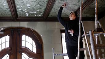 Restaurationsarbeiten im Solothurner Rathaus