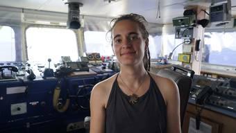 Die sizilianische Richterin, die Sea-Watch-Kapitänin Carola Rackete (im Bild) freigelassen hat, ist nach ihrem Urteil unter Druck geraten und hat nach Beleidigungen und Drohungen ihren Facebook-Account geschlossen. (Archivbild)