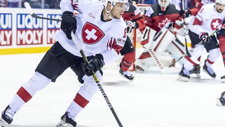 Sven Andrighetto verzeichnete in der KHL mit Awangard Omsk und auch persönlich einen guten Saisonstart