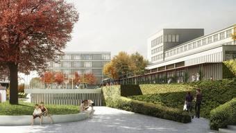 Mit 112 Mio. Franken wird das Sekundarstufenzentrum Burghalde der grösste Brocken sein.