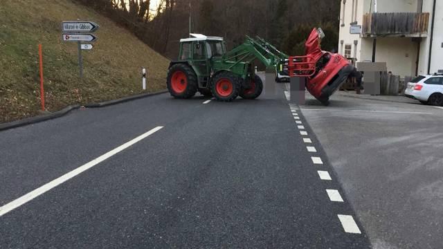 Traktorunfall: Landwirt erklärt die Ladungs-Problematik