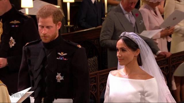 "Royal Wedding: Harry und Meghan sagen ""Ja"""