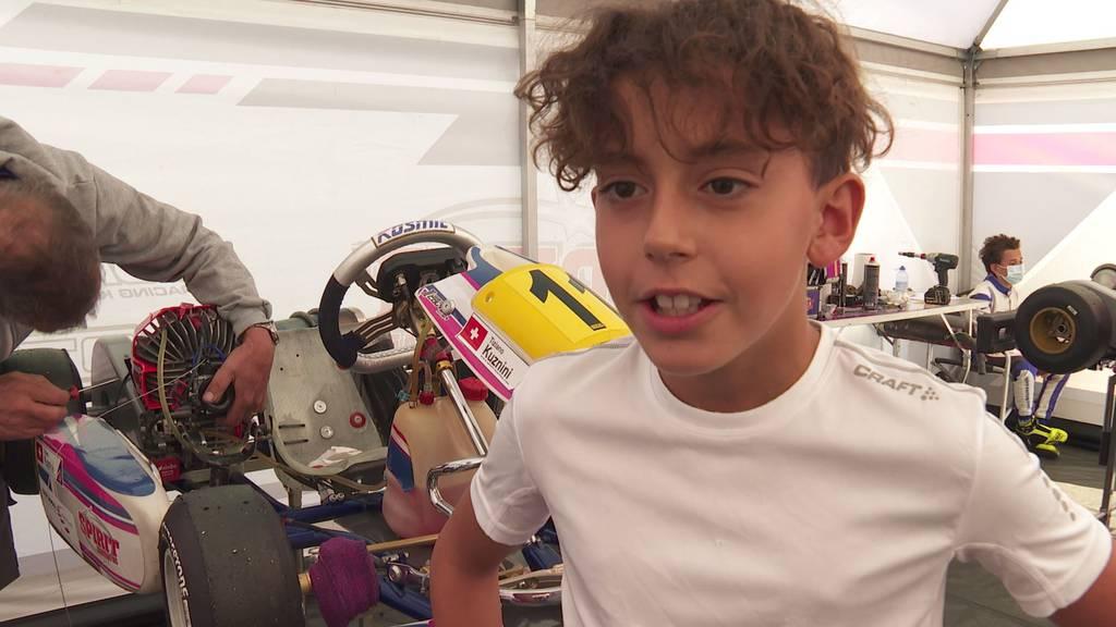 11-jähriges Kart-Talent aus Eich träumt von einer Formel-1-Karriere