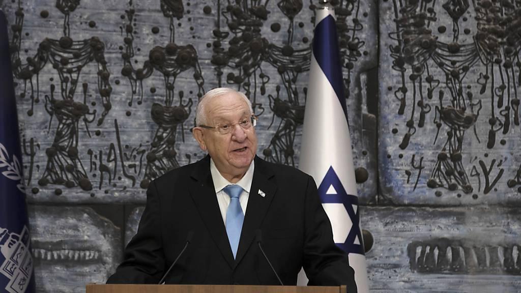 Israels Präsident Rivlin beginnt Beratungen mit Parteichefs