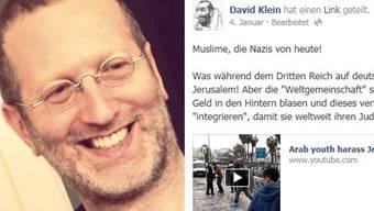 David Klein entschuldigt sich - Muslime ziehen Klage zurück