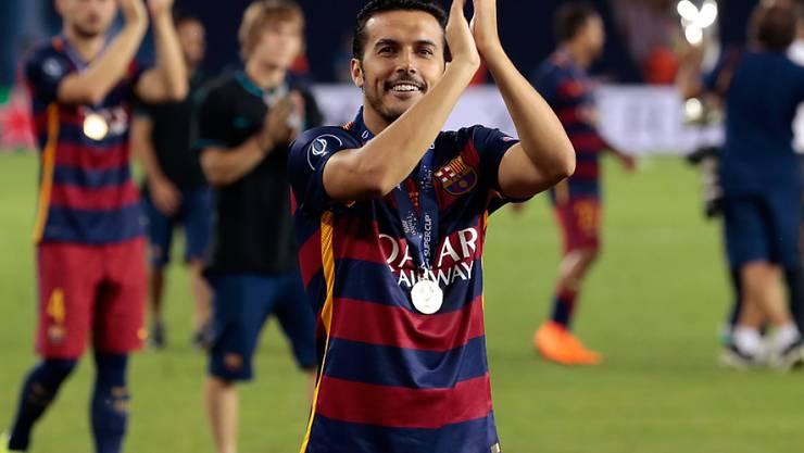 Pedro wechselt von Barcelona zu Chelsea
