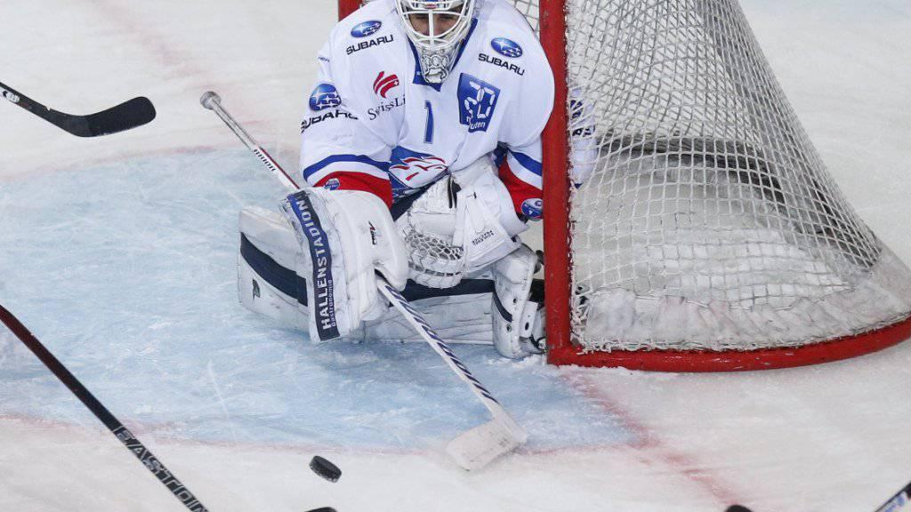 Nie die Ruhe verloren: ZSC-Goalie Niklas Schlegel