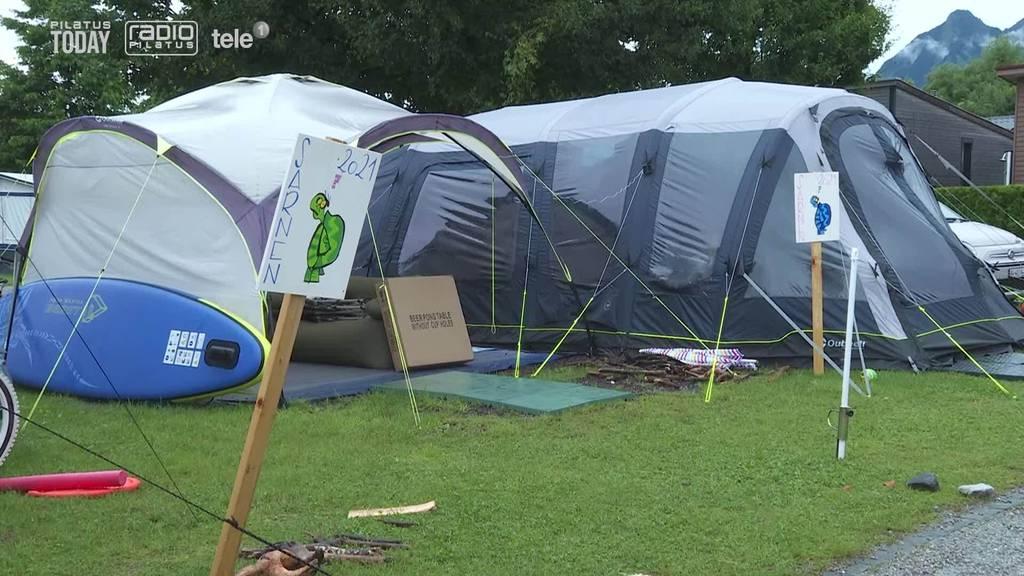 Camper müssen auf Sarner Campingplatz ausharren
