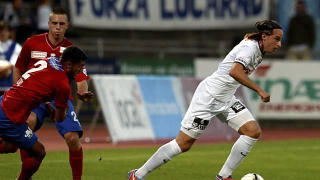 Thuns Torschütze Luca Zuffi (r.) zeigte eine starke Leistung