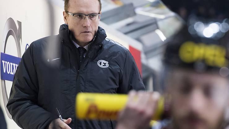 Trainer Larry Huras ist nicht allein für Gottérons Misserfolg verantwortlich