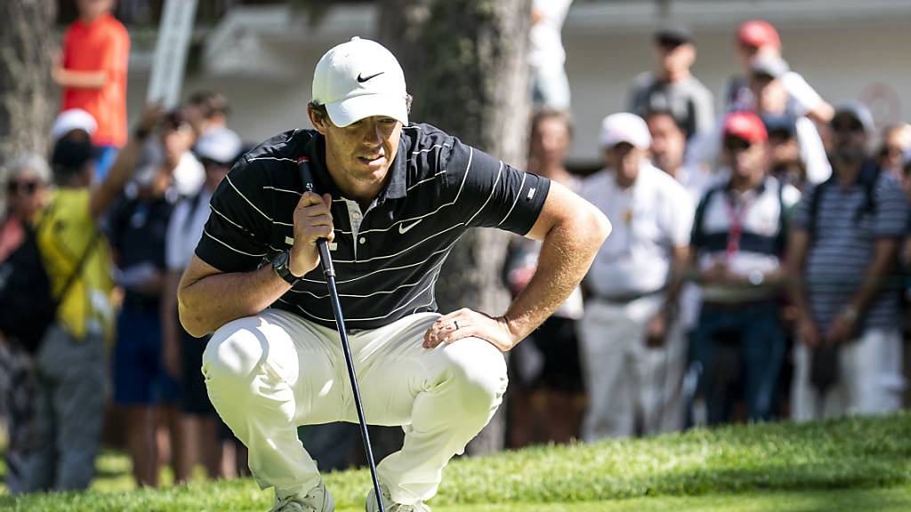 Rory McIlroy in Crans-Montana mit Toprunde