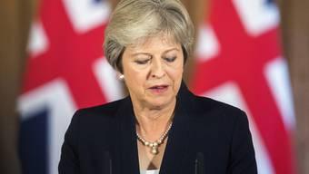 Steht derzeit von Seiten der EU und im Inland unter Druck: die britische Premierministern Theresa May. (Archivbild)