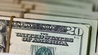 Bündel von 20-Dollar-Noten (Archiv)