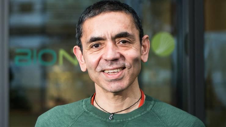 ARCHIV - Ugur Sahin, Vorstandsvorsitzender Biontech. Biontech ist ein Biotechnologie-Unternehmen, das sich auf die Entwicklung und Herstellung für einen patientenspezifischen Ansatz zur Behandlung von Krebs und anderen schweren Krankheiten fokussiert. Foto: Andreas Arnold/dpa
