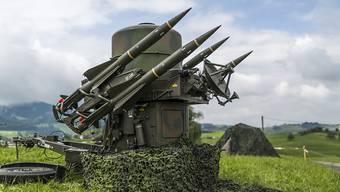Fliegerabwehrsystem der Ruag: Mit jeder exportierten Waffe verliert die Schweiz Neutralität. (Archiv)