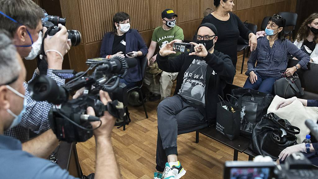Solidarität für Russlands Regiestar Serebrennikow - Urteil am Freitag