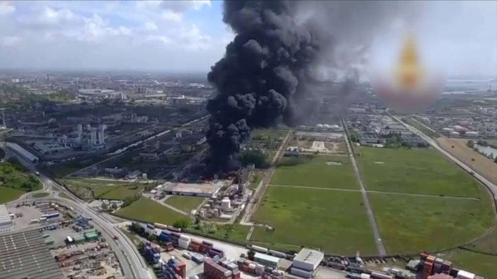 Venedig: Explosion in Chemiefabrik fordert zwei Verletzte