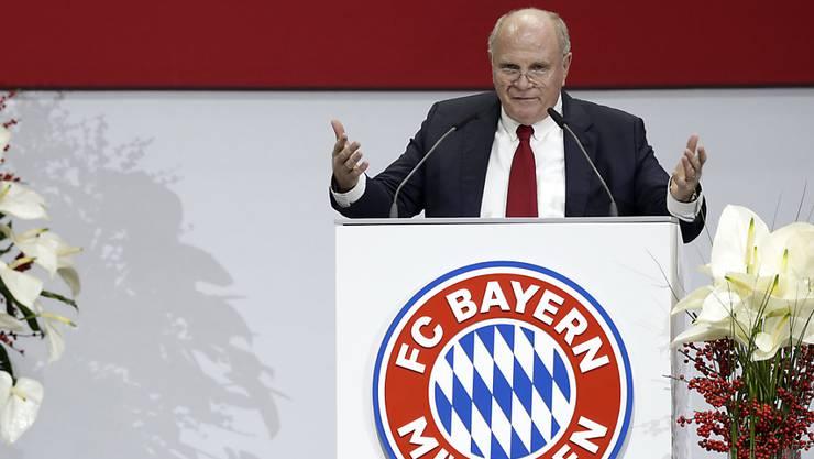 Erwartet keine Revolution für die deutsche Nationalmannschaft: Bayern-Präsident Uli Hoeness