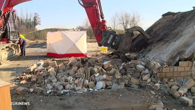 Bauarbeiter von Betondecke erschlagen