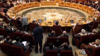 Arabische Liga bei einer Versammlung am 2. November