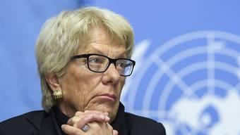 Spricht gerne Klartext: die frühere Uno-Chefanklägerin und Schweizer Bundesanwältin Carla del Ponte. (Archivbild)