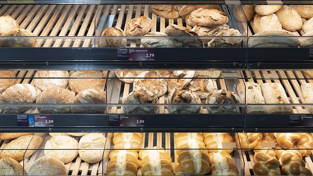 Parlamentsmitglieder wollen Schweizer Brot aus Schweizer Mehl
