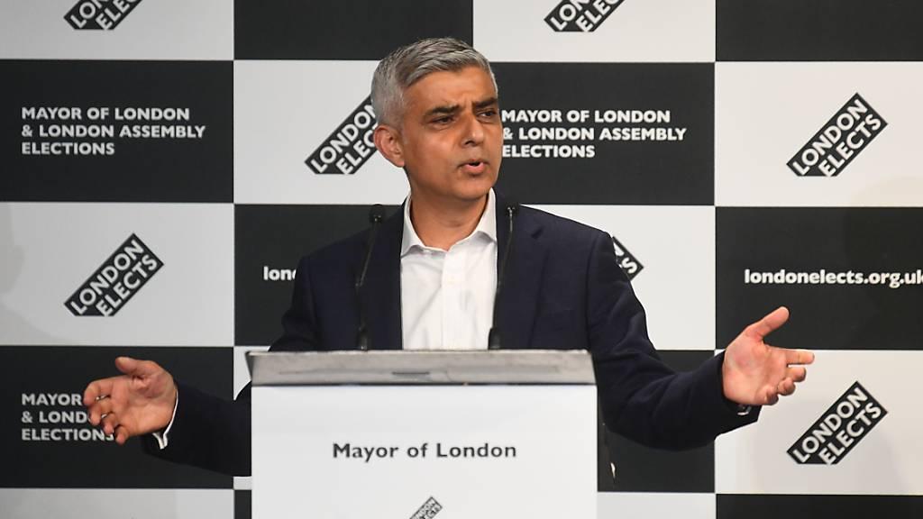 Londons Bürgermeister Khan wiedergewählt