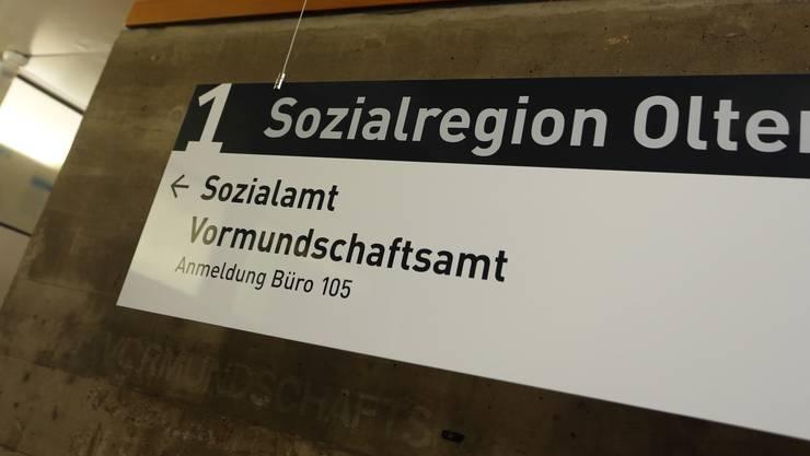 Die Sozialregion Olten hat zum ersten Mal seit 2009 nur noch eine marginale Steigerung der Dossiers zu verbuchen.