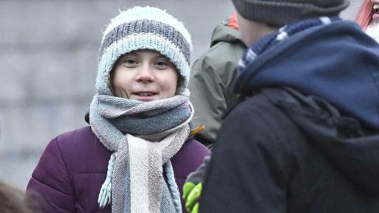 Noch steht nicht fest, ob Greta Thunberg bei der Anti-WEF-Wanderung dabei ist.