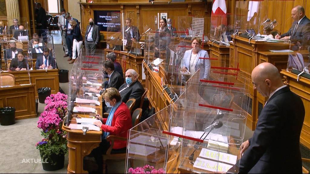 Wegen Corona-Politik: SVP setzt Alain Berset unter Druck
